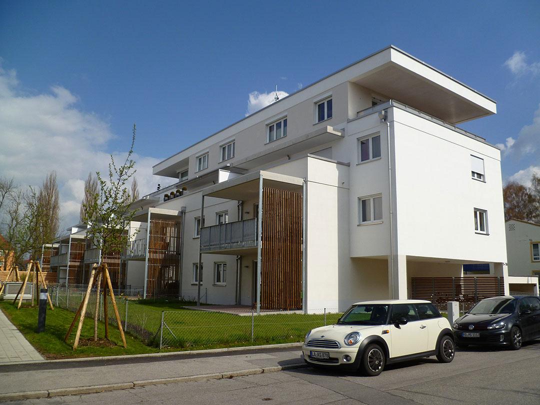 Mehrfamilienhaus in Landshut